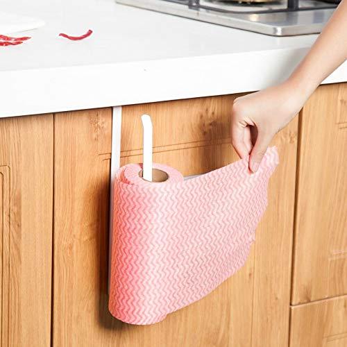 Go Cart Go 2019 New Iron Kitchen Tissue Holder Hanging Bathroom Toilet Roll Paper Holder Towel Rack Kitchen Cabinet Door Hook Holder by Go Cart Go (Image #4)