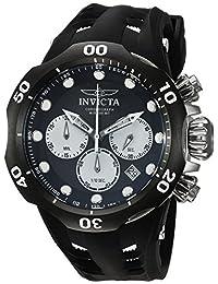 Invicta Men's 22351 Venom Analog Display Quartz Black Watch