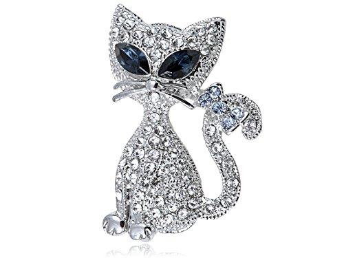 Kitty Cat Brooch - 7