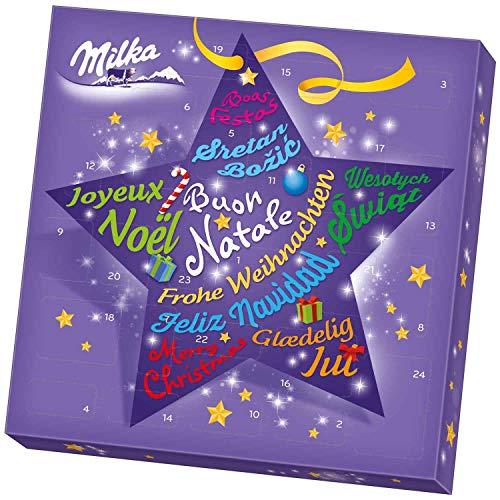 Milka Big Star Chocolate Advent Calendar XL 14in. x 14in. Christmas Countdown