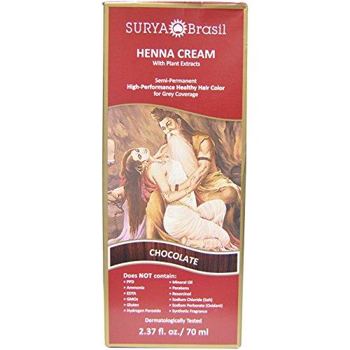 Surya Brasil Henna Cream 70ml (Chocolate) - 1