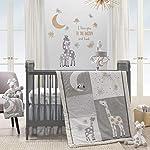 Lambs-Ivy-Signature-Moonbeams-Giraffe-Stars-3-Piece-Crib-Bedding-Set-GrayGold