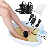iMeshbean® NEW Ion Ionic Detox Foot Bath Aqua Cleanse SPA Machine with Tub