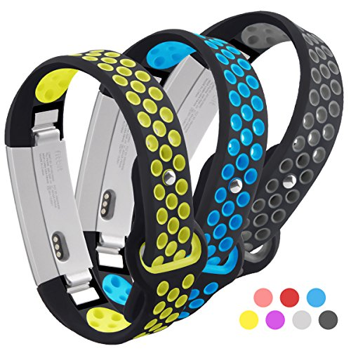 Fitbit Alta Band, Kutop Soft Silicone Silica Gel Sports Fitness Watchband Heart Rate Adjustable Replacement Strap for Fitbit Alta/ Alta HR Wristband ()
