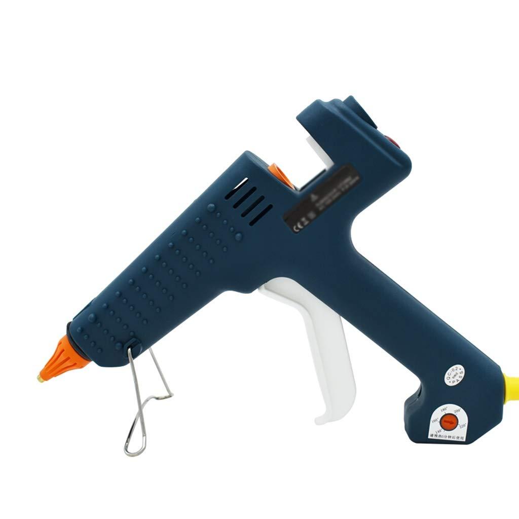 Hong Tai Yang Hot melt Glue Gun, Industrial Grade 300W Adjustable Temperature high Power Rapid Heating Technology, Suitable for DIY Crafts Sealing and Quick Repair, Home Repair Tools (Color : A) by Hong Tai Yang