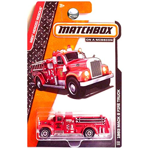 Matchbox 2014 - 1963 Mack B Fire Truck 100/120 MBX for sale  Delivered anywhere in USA