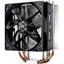 Cooler Master Hyper RR-212E-20PK-R2 LED CPU Cooler with PWM Fan, Four Direct Contact Heat Pipes