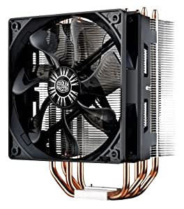 Cooler Master Hyper 212 EVO - Ventilador de PC (Procesador, Enfriador, Socket AM2, Socket AM3, Socket AM3, Socket AM3+, Socket H2 (LGA 1155), Socket H (LGA 1156), Socket B, Aluminio, 4-Pin PWM, Sleeve)