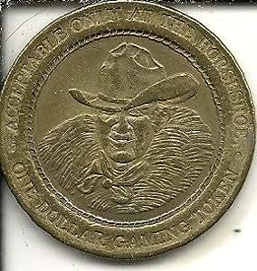 Amazon Com 1 Binions Horseshoe Dice Token Coin Las