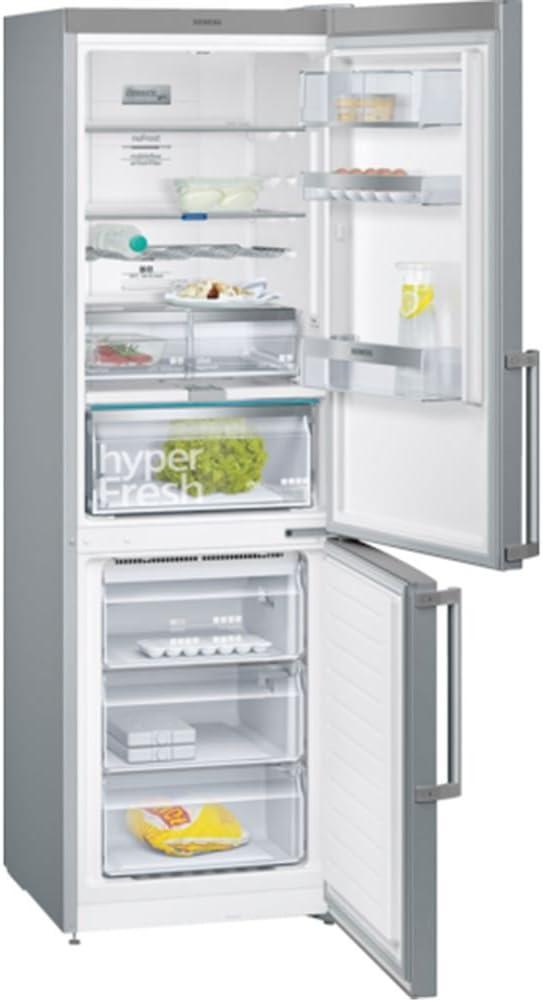 Siemens iQ500 KG36NAI4P nevera y congelador Independiente Acero ...