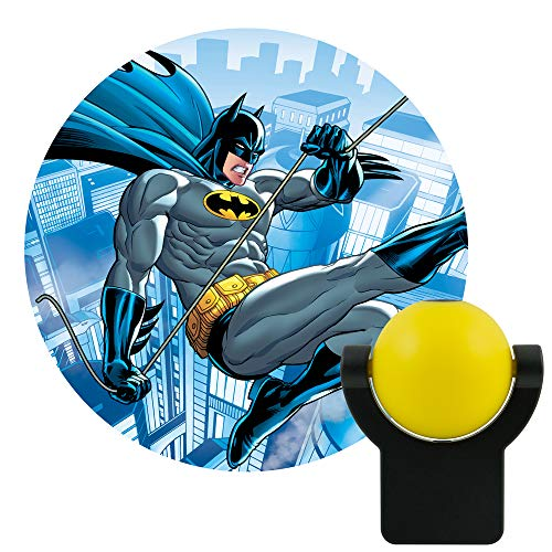 (Projectables 10445 RA29607 Dc Comics Led Night-Light (Batman), Yellow)