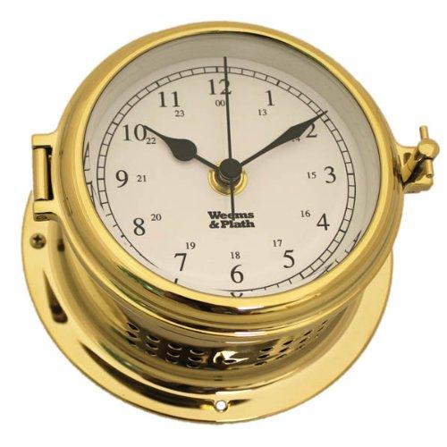 Weems and Plath Endurance II 115 Quartz Clock, Brass