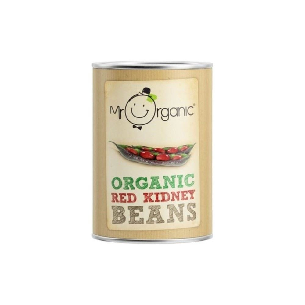 Mr Organic Red Kidney Beans (400g) - Pack of 6