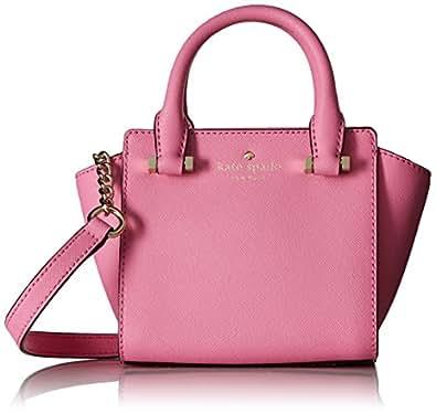 Kate Spade New York Women's Mini Hayden Cross Body Bag, Rouge Pink, One Size