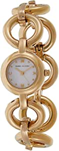Marc by Marc Jacobs Women's White Dial Stainless Steel Band Watch - MBM3005