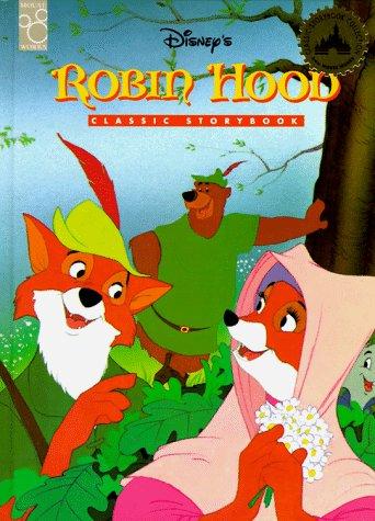 Disney S Robin Hood Classic Storybook Amazon Co Uk Mouse Works Books