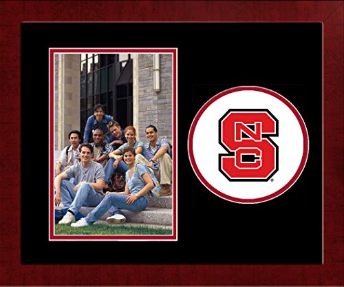 - Campus Images Sports Team Logo Design North Carolina State University Spirit Photo Frame (Vertical)