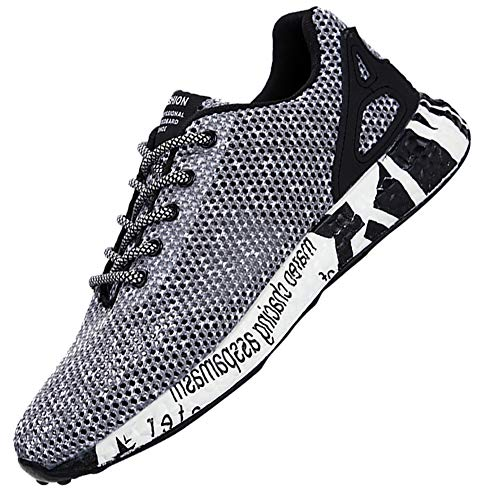 KUIBU KUIBU KUIBU Men Lightweight Sports Breathable Slipon Flying Knit Toning Running Shoes Mesh Sneaker Athletic 663b2d