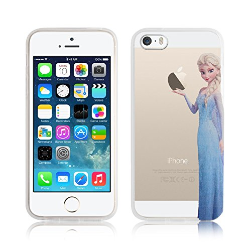 custodia iphone 5s silicone trasparente