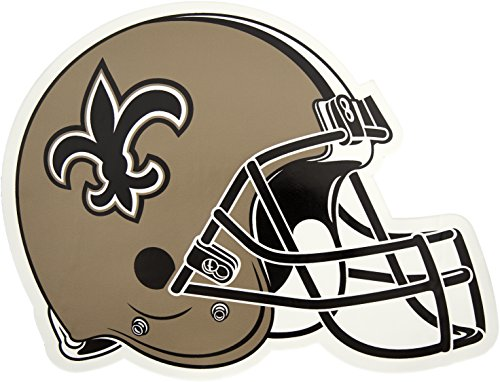 Applied Icon, NFL New Orleans Saints Outdoor Small Helmet Graphic Decal ()