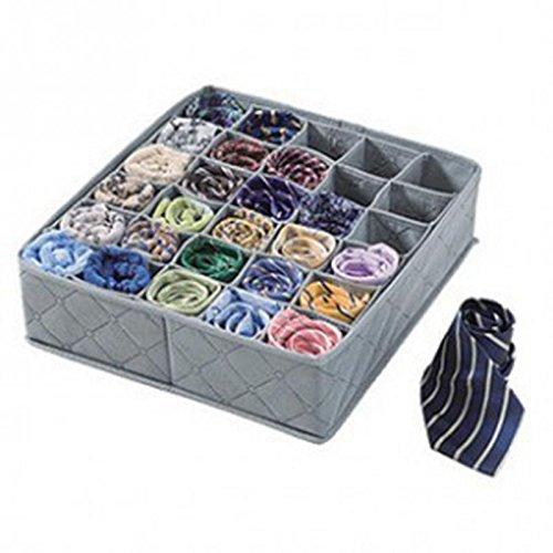 30celdas caja de almacenamiento flodable tela no tejida ropa interior calcetines organizador de cajones–Pier 27