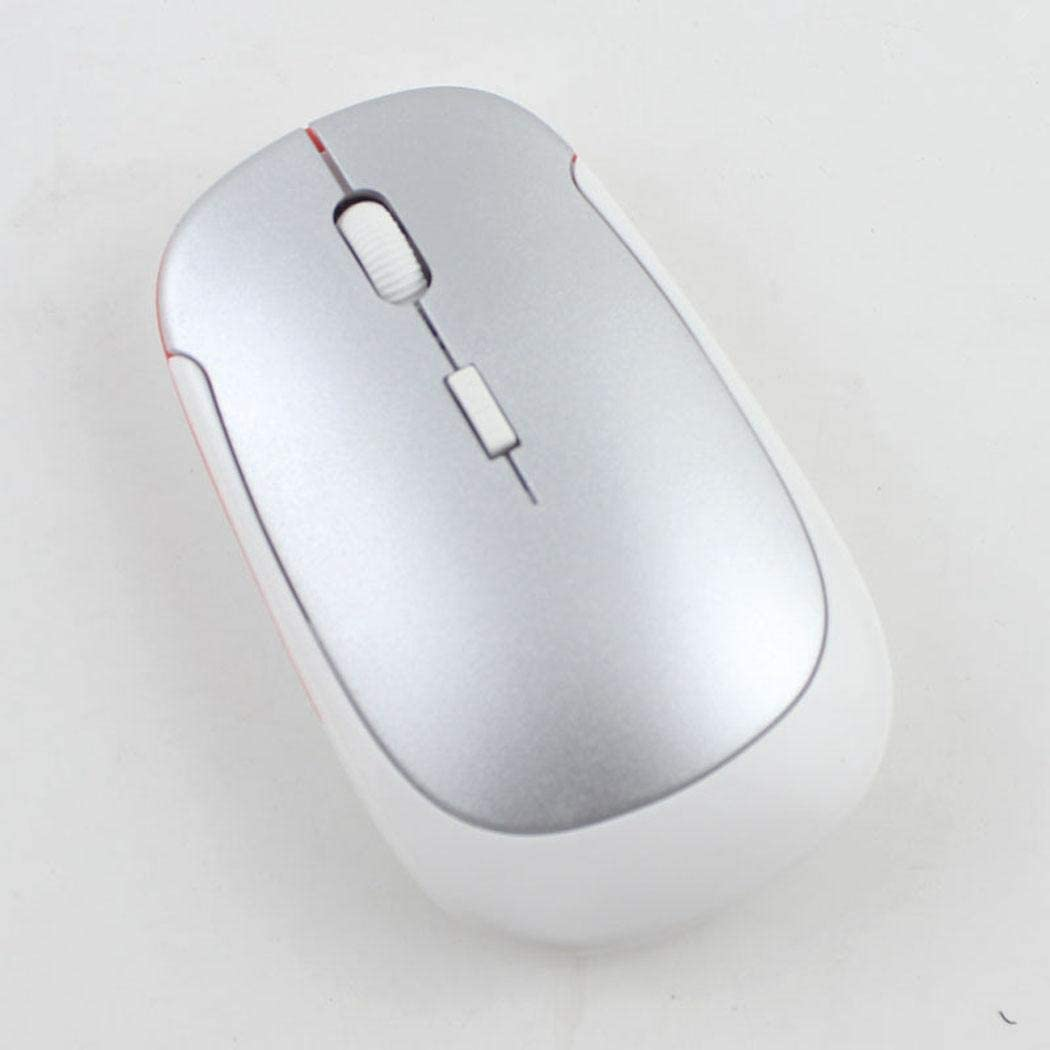GoodKE 2.4GHz 4 Buttons Gaming USB Wireless Mouse for PC Laptop Mice