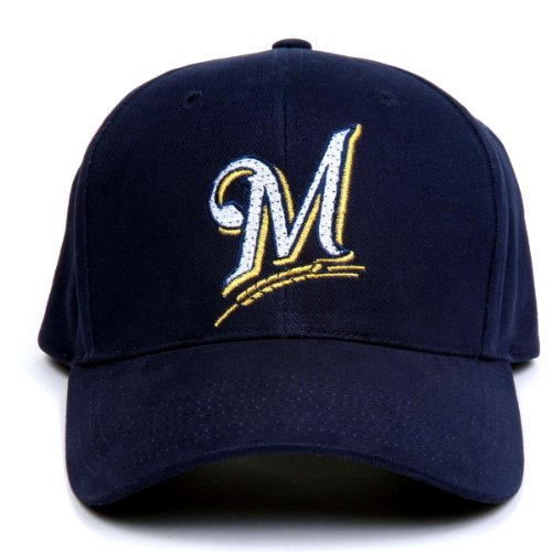 Milwaukee Brewers Led (MLB Milwaukee Brewers LED Light-Up Logo Adjustable Hat)