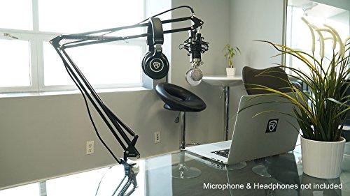Clamp Arm Desk - Rockville DMS40 40