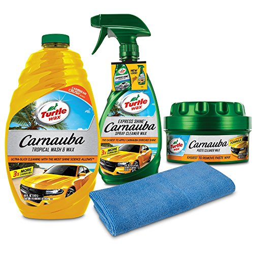 Turtle Wax 50825 Complete Carnauba Wash & Wax Kit, 78. ()
