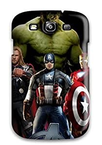 Defender Case For Galaxy S3, The Avengers 93 Pattern