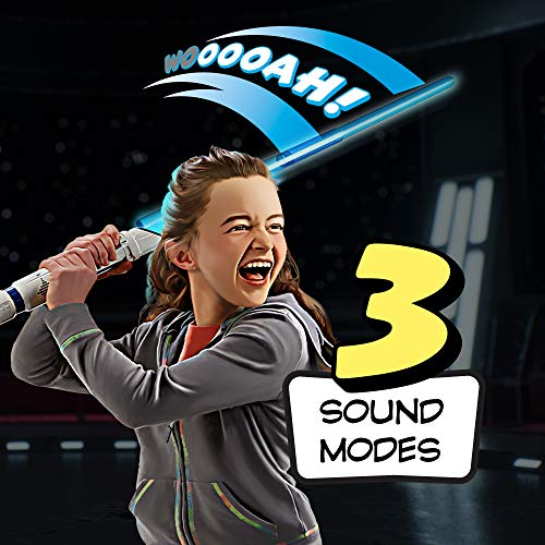 518BK4Ib5tL - Star Wars Scream Saber Lightsaber Toy, Record Your Own Inventive Lightsaber Sounds & Pretend to Battle, for Kids Roleplay Ages 4 & Up
