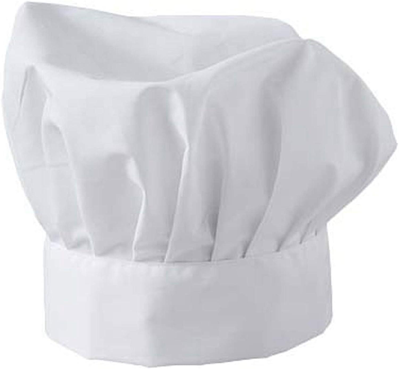 zeitnet inc Cappello cuoco in puro cotone made in italy taglia uomo donna bambino da 55 a 60