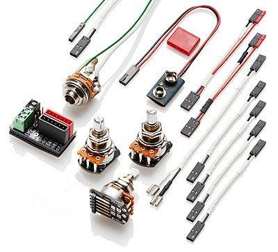 amazon com emg pj kit solderless conversion wiring pickup set rh amazon com Old EMG Wiring EMG Solderless Wiring Kit