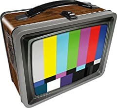 Retro TV Tin Storage