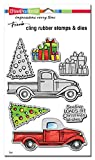 Stampendous CLD01 Truck Tidings Cling/Die Set
