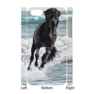 DDOUGS Galloping Horse Brand New Cell Phone Case for Iphone 4,4S, DIY Iphone 4,4S Case