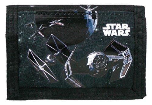 Star Wars TIE - Fighter Kinder Geldbörse Geldbeutel Portemonnaie Raumschiffe Todesstern