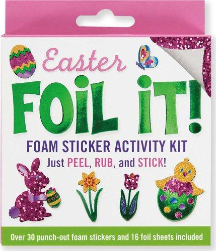 Easter Foil It! Foam Sticker Activity Kit