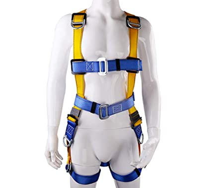 518BKuhEgnL._SX425_ full body harness fall arrest restraint harness kit five point fall