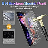 [2+2 Pack] QHOHQ Screen Protector for iPad Pro 12.9