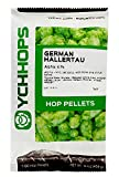 KegWorks HOZQ8-1081 Import Pellets, German Hallertau, 1 lb./453.59G Package, 16 oz, Green