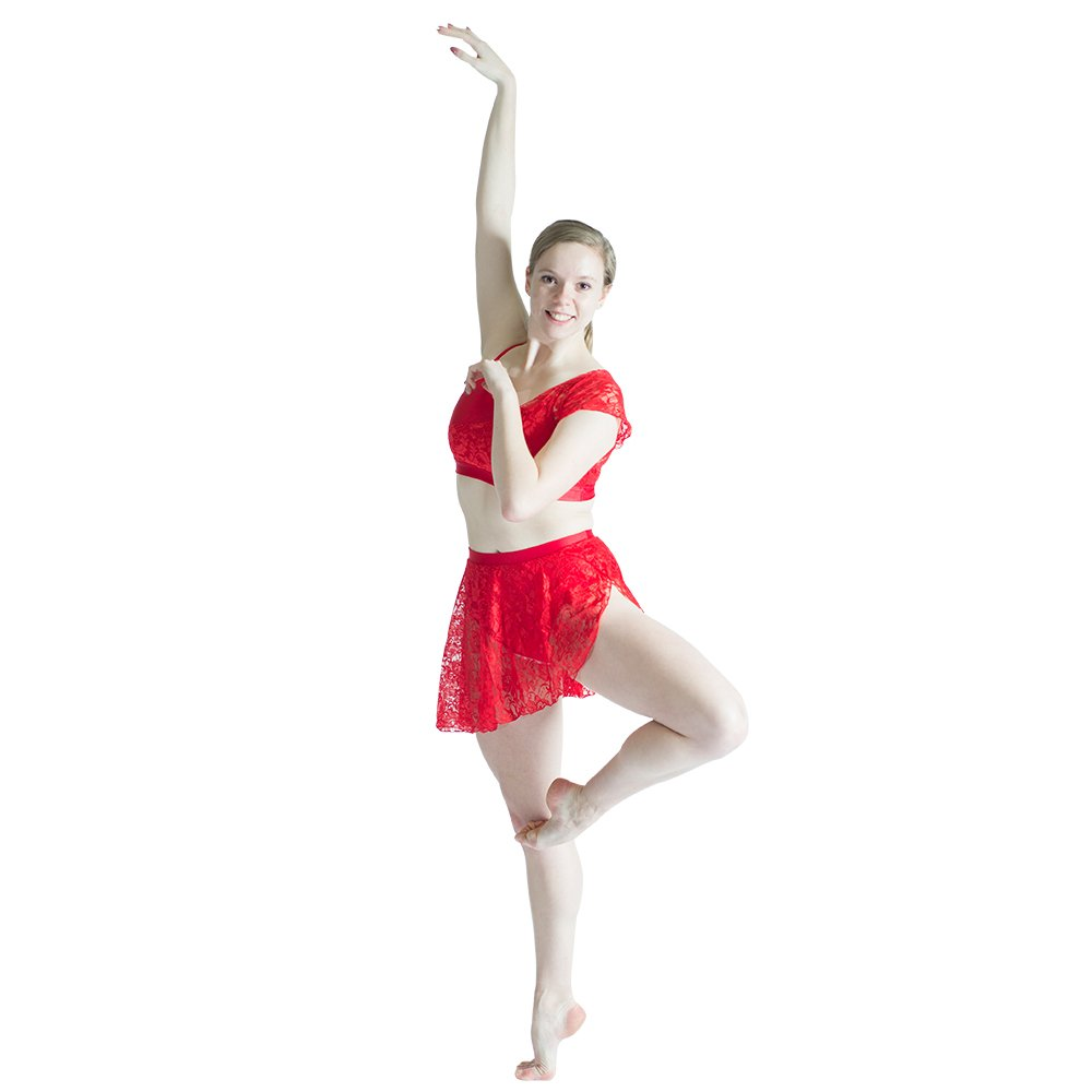 9ac453bc4000 Alexandra Collection Womens Lace Watercolor Lyrical Dance Costume Overdress  · HDW DANCE Women Lyrical 2 Pieces Dance Sets NylonLycra Crop Top and  Shorts ...