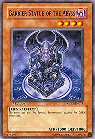 YUGIOH 3X Barrier Statue of the Heavens CDIP-EN023 1ST EDITION PLAYSET M//NM