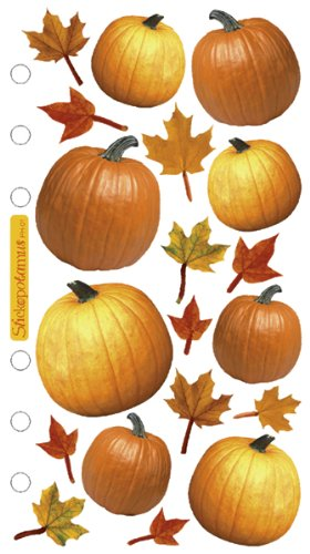 Sticko Harvest Stickers, Autumn Pumpkins
