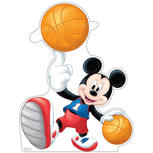 Mickey Mouse Party Decoration Mickey Basketball Carboard Standup by Advanced Graphics