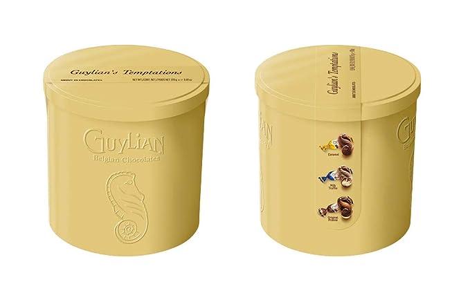 Chocolates belgas de Guylian Tentaciones Gold Tin 278g