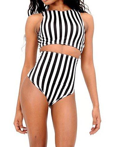 skt-swimwear Damen Tankinis, High Rise/Geometrische Wireless/Padless BH andere Mehrfarbig