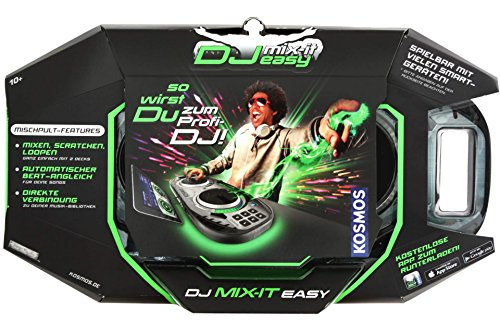 DJ Mischpult MIX-IT-EASY für Tablet & Smartphone mit kostenl