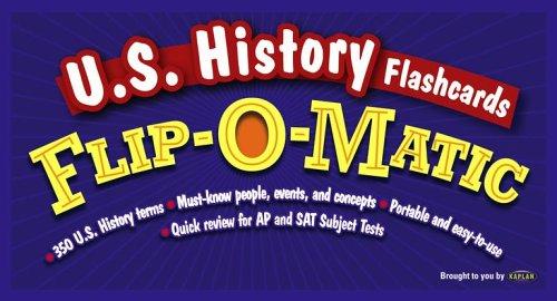 U.S. History Flashcards Flip-O-Matic