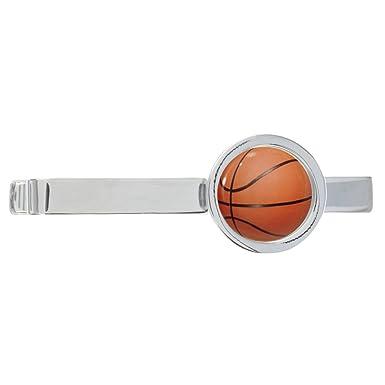 Diseño de balón de baloncesto Chapado en Tie Clip en caja de ...